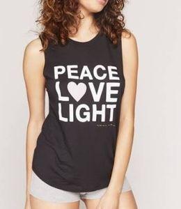 "New Spiritual Gangster Tank ""PEACE L❤VE LIGHT"""